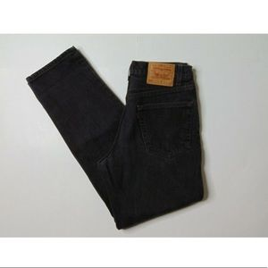 Vintage Levi's 550 32x32 Relaxed Fit Black Jeans